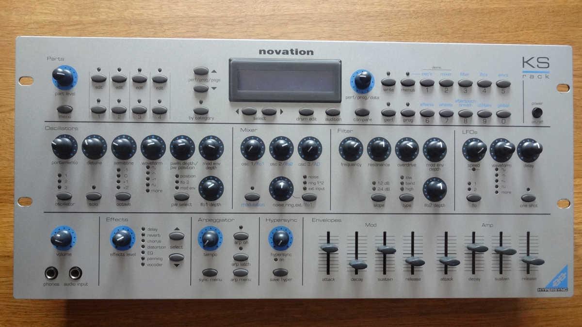 Novation KS Rack