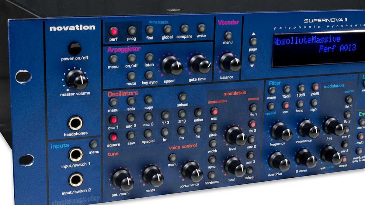 Novation Supernova II Rack