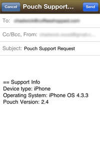 Pouch Support