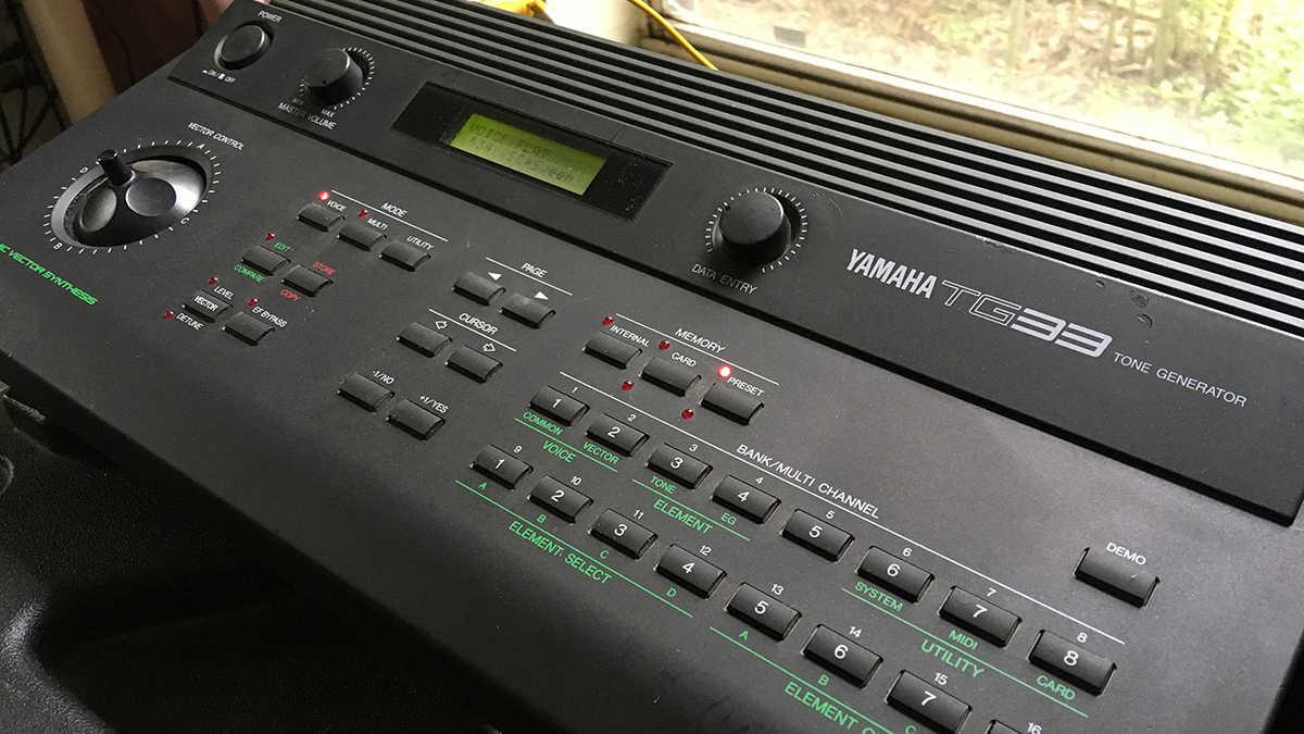 Yamaha TG33